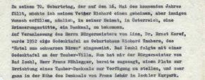 Max Tauber: Schlußworte in einer Radiosendung