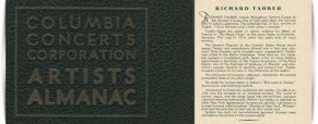 Columbia Almanac 1932/33