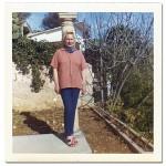 Diana Napier Tauber 1971 in Monte Carlo