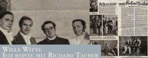 Ich reiste mit Richard Tauber